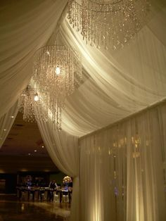 Reception entrance  # white wedding ... Wedding ideas for brides, grooms, parents & planners ... https://itunes.apple.com/us/app/the-gold-wedding-planner/id498112599?ls=1=8 … plus how to organise an entire wedding ♥ The Gold Wedding Planner iPhone App ♥