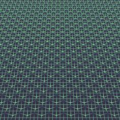 Magic Carpet  (source code)  // #GIF #animation #mathart #abstract #pattern //