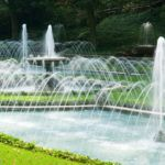Fountains at Longwood Gardens, Kennett Square, Pa.