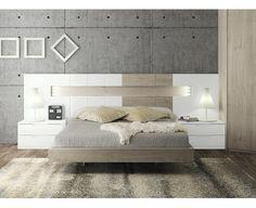 Composición Dormitorio Moderno69 Art Deco Interior Bedroom, Bedroom Bed Design, Bedroom Furniture Design, Modern Bedroom Design, Home Room Design, Small Room Bedroom, Bed Furniture, Home Decor Bedroom, Living Room Designs
