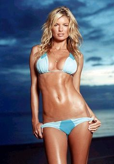 I believe this was the background on my phone in high school for inspiration! LOL Love Marisa Miller!