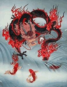 Rooting, Stabilizing, Grounding, Balancing, and Centering in Qigong (Chi Kung) and T'ai Chi Ch'uan (Taijiquan) by Michael Garofalo Koi Dragon, Water Dragon, Japanese Dragon, Qi Gong, Tai Chi Qigong, Year Of The Dragon, Poems Beautiful, Dragon Pictures, Muse Art