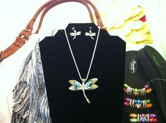 Very cool dragon fly necklace at Tranquility Health and Beauty Centre in Tillsonburg.