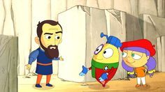 Art with Mati and Dada – Michelangelo   Kids Animated Short Stories in ...