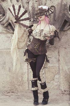 Steampunk fashion                                                                                                                                                                                 More