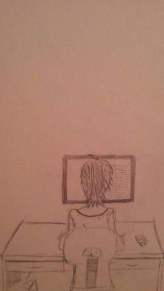 I tried to draw Info-Chan