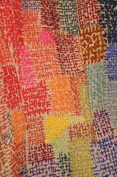 Détail veste de Florence Gobbe, vu en exposition à Ecolaines de Rennes... magnifique !