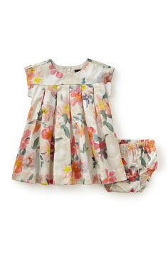 Tea Collection 'Bel Paese' Dress (Baby Girls)