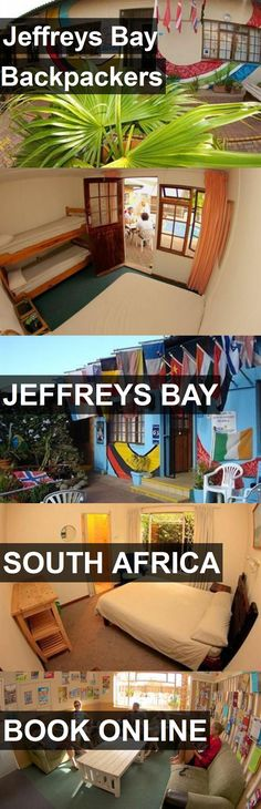 Hotel Jeffreys Bay Backpackers in Jeffreys Bay, South Africa. For more information, photos, reviews and best prices please follow the link. #SouthAfrica #JeffreysBay #travel #vacation #hotel