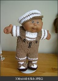 free crochet pattern for 14 inch doll outfit
