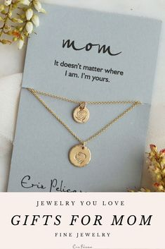 Gold Rose Mother Daughter necklace set, Mother of the Bride dress, perfect gift for Mom, Daughter birthday Gift, Mommy and Me matching outfit or gift for wife Shop our best selling Mom jewelry #motherdaughter #mommyandme #motherofthebride