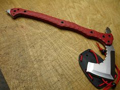 ...AMERICAN KAMI... ...AXE... Not a big knife guy/axe guy, but I kind of want this...