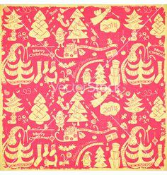 Christmas background vector - by elfivetrov on VectorStock®