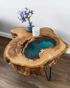 epoxy resin table how to make . epoxy resin table diy how to make . Epoxy Wood Table, Epoxy Resin Table, Epoxy Resin Art, Diy Epoxy, Diy Resin Art, Diy Resin Crafts, Resin And Wood Diy, Ice Resin, Stick Crafts