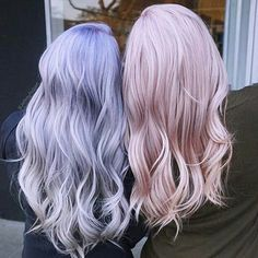 "7,768 Likes, 81 Comments - behindthechair.com (@behindthechair_com) on Instagram: ""* Best friend #Hairgoals ・・・ by @jeffreyrobert_ Which one is your favorite? VOTE BELOW! lavender…"""