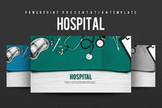 Hospital by Good Pello on @creativemarket