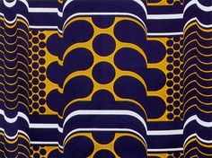 Textiles by English designer Barbara Brown, created during the 1960s and 1970s—this one from 1967