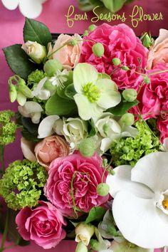 春のBOX ARRANGEMENT!|Four Seasons Flower 東京・世田谷区・二子玉川・自由が丘・等々力・上野毛エリアのフラワーアレンジメント教室フォーシーズンズフラワー