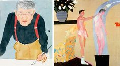 """The British artist David Hockney has often said that he lives in the present. In a typical quote, he told The Guardian in 2015: """"It's always..."""