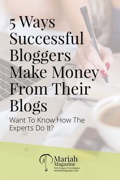 How do successful bloggers make money from their blogs? They focus on more than one income stream, they create an entire income strategy...and you can too!