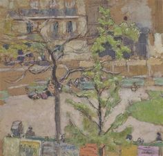 Édouard Vuillard - Square Berlioz, 1919, peinture...