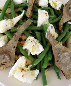 Vegatopia - Zomerse salade met sperziebonen