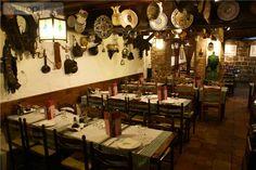 El restaurante en Barcelona.