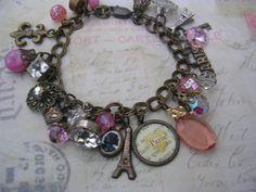 Dreaming of Paris  Bracelet by mootsie on Etsy, $24.00