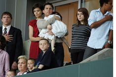 Isabella Kidman-Cruise Pictures - Tom Cruise, Katie Holmes & Family Watch New York Red Bulls v LA Galaxy - Zimbio #cruisespictures