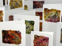 Letting in the Light: Teabag Art Cards
