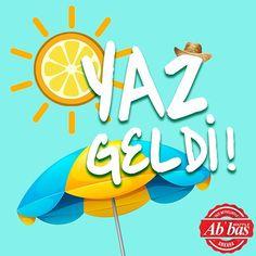 Karşınızda yaz; yılın enerji dolu, kıpır kıpır mevsimi!  #AbbasWaffleAnkara #1Haziran #YazGeldi Burger King Logo, Ankara, Logos, School, Instagram Posts, Logo