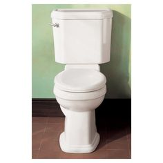 American Standard Portsmouth Champion 4 Right Height Elongated Toilet: Remodelista