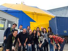 Thank gou very much Fuji team it have been a eal pleasure working with you ! See tou somewhere down the road -2 days of work with #TOTEM ! by psioui