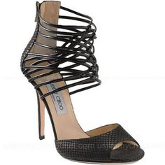 Jimmy Choo Quantum Sandals Black