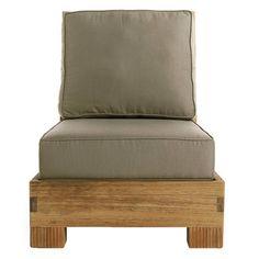 Reeded Slipper Chair