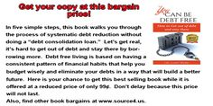 Here's your chance to change the the direction of your personal finances.  http://amzn.to/1efcDD6.  Share!