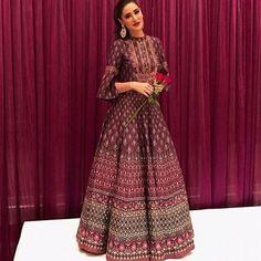 WEBSTA @ waliajones - What a queen! Nargis looks stunning in Anita Dongre 👌🏼New collection on www.waliajones.com soon #waliajones