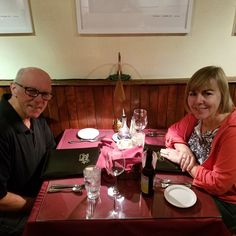 Here we are, celebrating our 29th wedding anniversary at Roka in Bisbee.  The meal was fabulous!