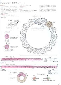 Asahi Original Crochet Lace Cafe 2014 by Crowe Berry - issuu Crochet Borders, Crochet Motif, Diy Crochet, Crochet Crafts, Crochet Doilies, Crochet Flowers, Crochet Stitches, Crochet Projects, Crochet Patterns