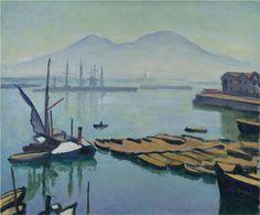 Albert Marquet (1875 - 1947) | Post-Impressionism | Bay of Naples - 1908