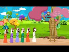 Zacchaeus and Jesus I Stories of Jesus I Animated Children's Bible Stories - YouTube