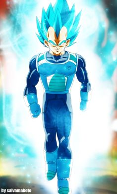 Super Vegeta 2015 by salvamakoto.deviantart.com on @DeviantArt