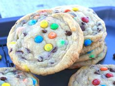 "OMG!  These OMG! Soft-Batch Mini M&M & Chocolate Chip Cookies could be the perfect ending (or start!) of each and every day, from this point forward, if it was up to my, what do you call it?  The 'Better half'?  Yup, that would be my SO =""insignificant other', 'the mister', 'the old balls and chain', 'my plus one', 'my boo', 'The object of my affection', 'The Bae', 'My soul-mate'...shall I go on?      My baby has been begging me, no...wait!  'Whining' is the appropriate verbiage, for…"