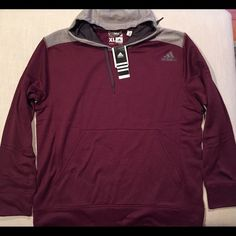 Selling this 2 Adidas Fleece Hoodies for $55, 4 Colors