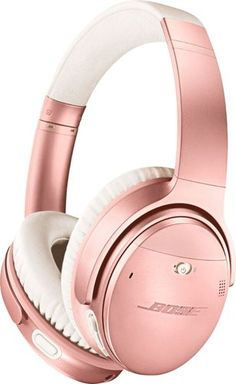audio headphones Bose QuietComfort 35 II Wireless Bluetooth Headphones, Noise-Cancelling, with Alexa voice control, enabled with Bose AR - Rose Gold What happens when you clear away t Bose Wireless, Wireless Noise Cancelling Headphones, Best Headphones, Wireless Headphones, Over Ear Headphones, Pink Headphones, Gadgets Techniques, E Reader, Fitness Armband