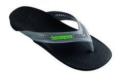 27d40c345 Havaianas Wide Black Grey Flip Flop