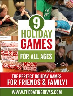 9 holiday games for all ages                                                                                                                                                                                 More