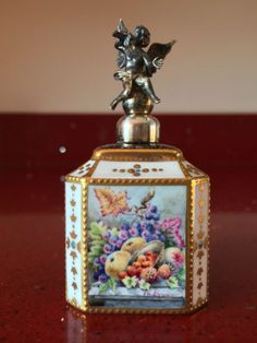 Superb Miniature Stefan Nowacki of Royal Crown Derby Silver Putti Scent Bottle | eBay