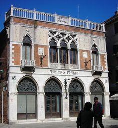 Image result for teatro italia venezia