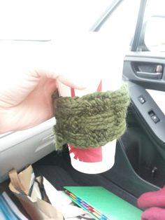 Cup cozie I made - 12 / 2014